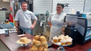 Volunteering as a caterer or cook