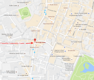 Map of Carmelite Community Centre