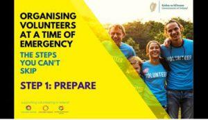 Organising volutneers emergency